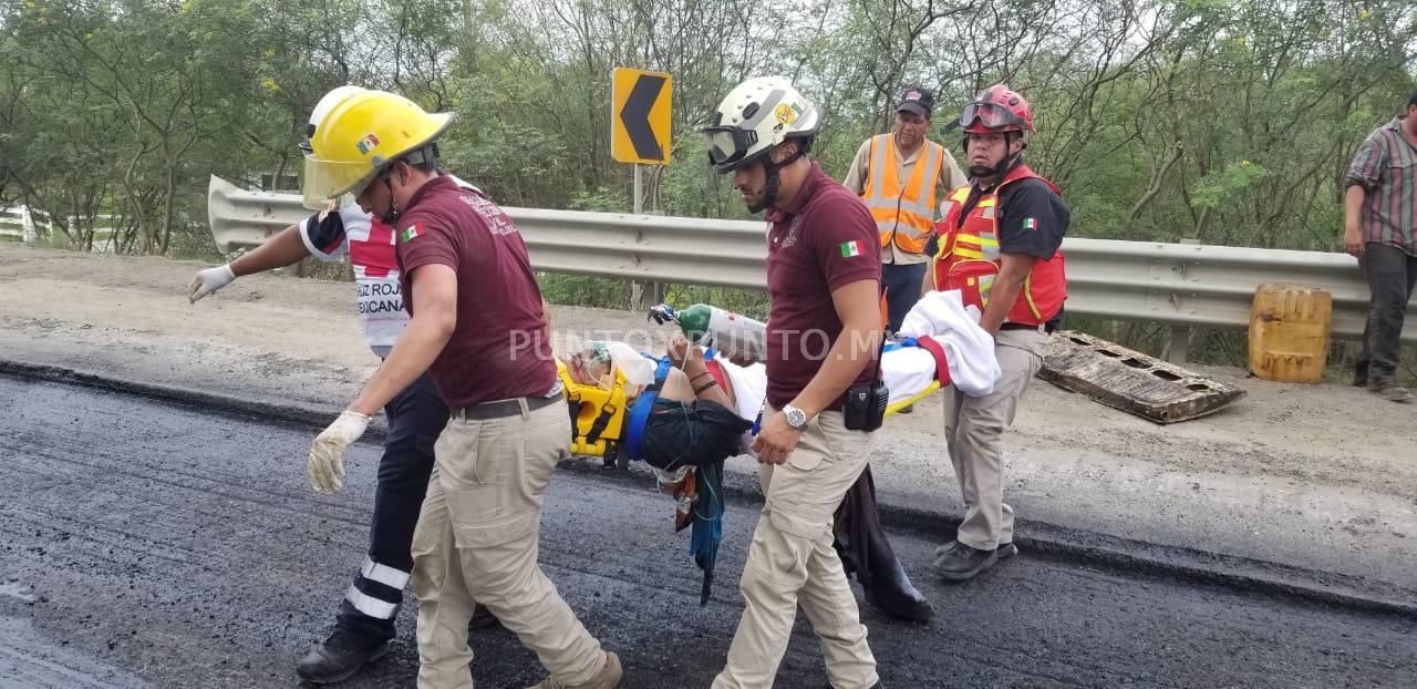 MUERE TRABAJADOR DE CONSTRUCTORA QUE SUFRIÓ ACCIDENTE EN CARRETERA NACIONAL EN MMORELOS.